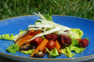Baby carrot and date salad Stephen 004