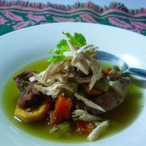 Grannys chicken soup 2 Stephen 004